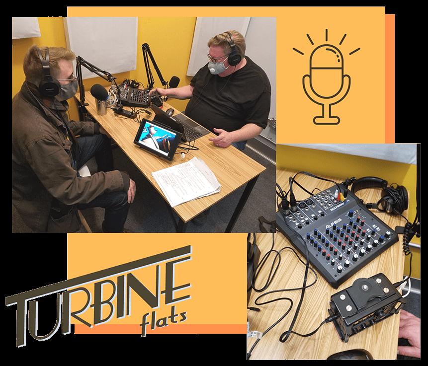 Podcast Room - New to Turbine Flats